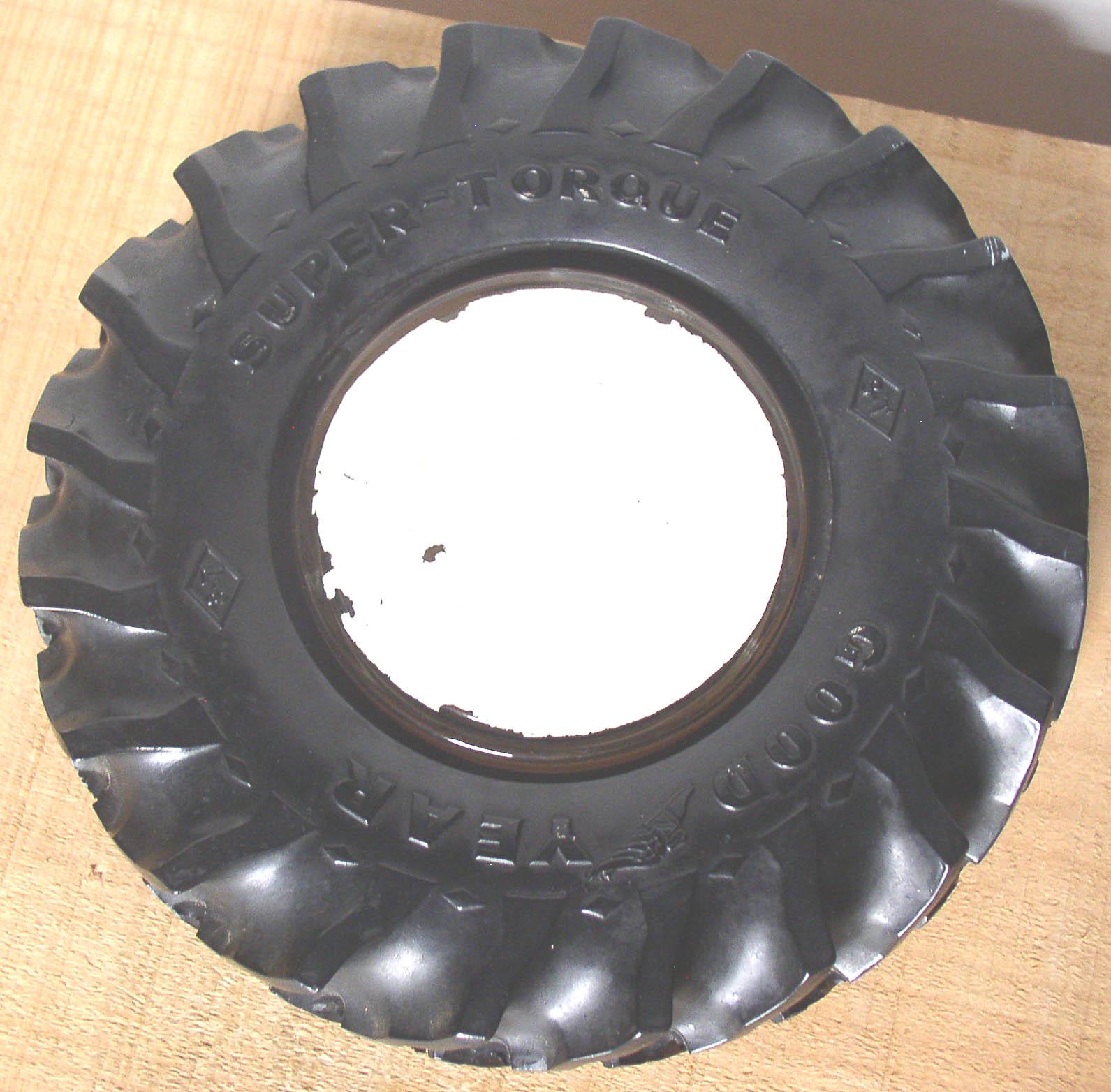 Goodyear Tractor Tire Ashtray Mankato Oil Co Minn