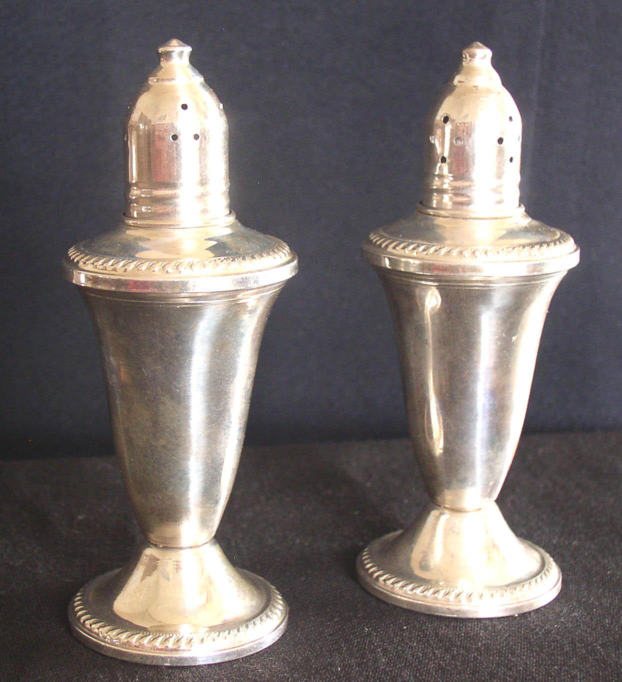 Vintage Duchin Creation Sterling Salt Amp Pepper Shakers