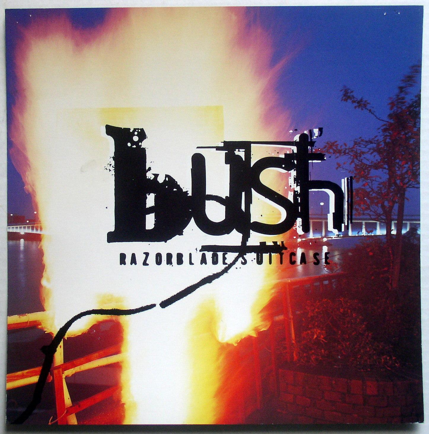 Bush Razorblade Suitcase Thingery Previews Postviews