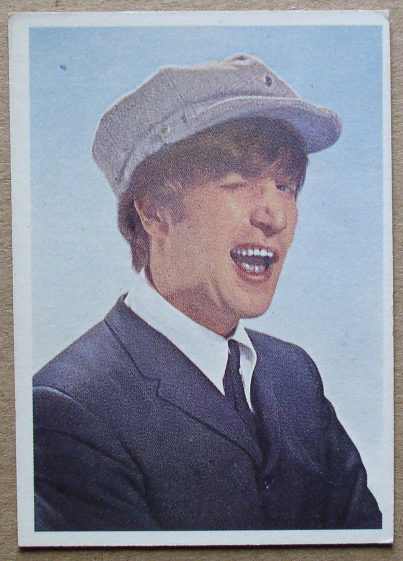 Harrison Auto Sales >> Beatles Diary trading cards – Thingery Previews Postviews ...