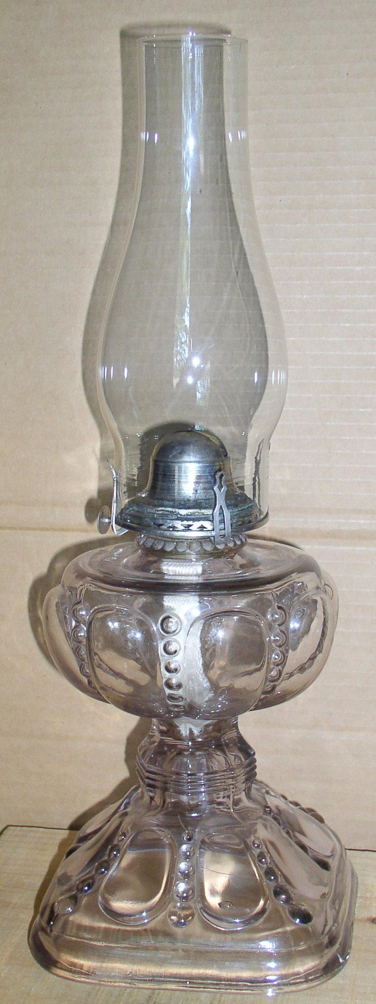 "Vintage ""Dewdrop And Petal"" Oil Lamp Sun Purple – Thingery ..."