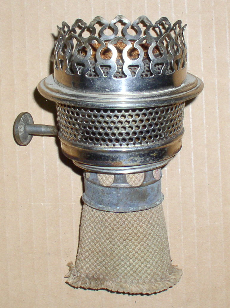 B Amp H Rayo Perfection Center Draft Oil Lamp Burner