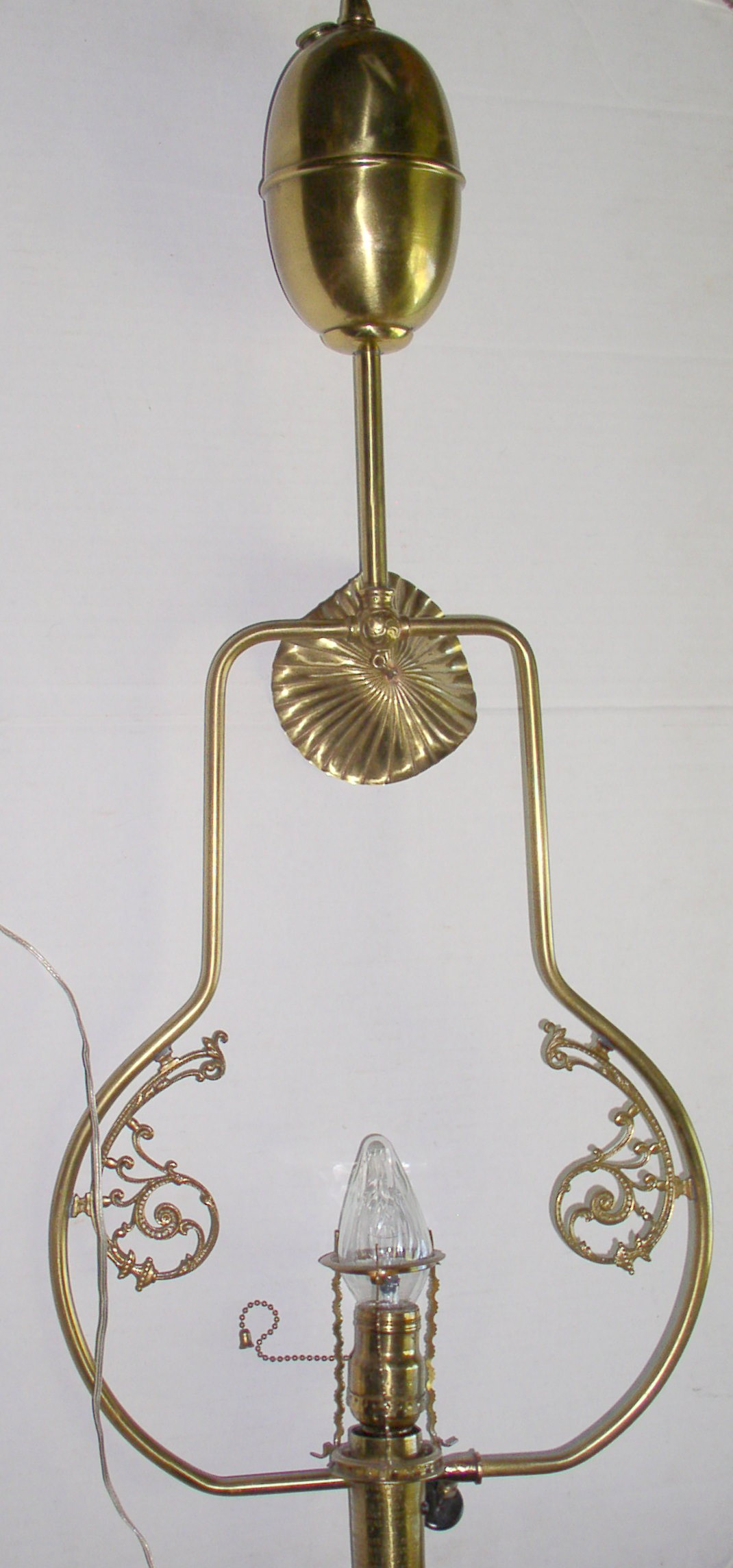 Standard Gas Lamp Co Antique Hanging Lamp Thingery
