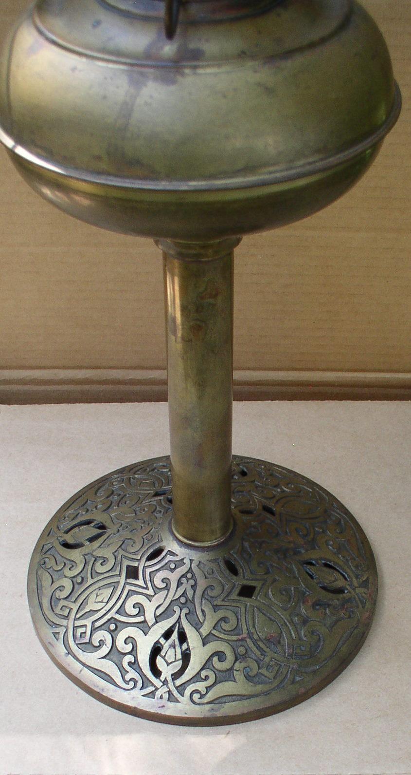 Rayo Center Draft Banquet Oil Lamp Amp Shade Ring Thingery