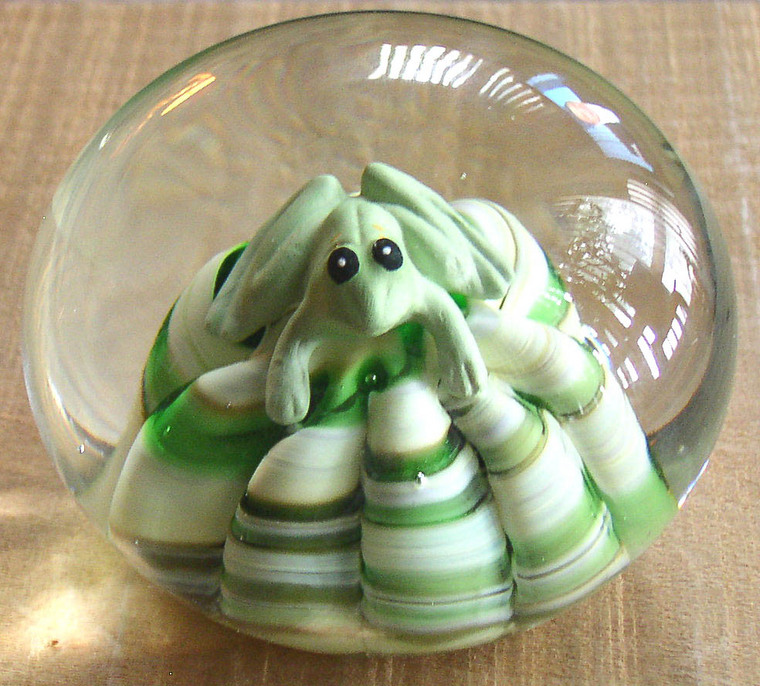 Vintage Joe St  Clair Sulfide Frog Paperweight – Thingery