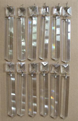 12 Crystal Prisms for Solar Sinumbra Astral Lamp