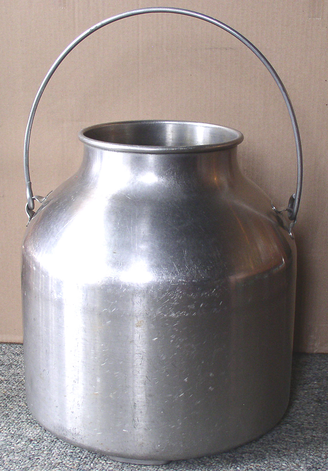 Empire Auto Sales >> Stainless Steel Milker Milk Pail – Thingery Previews ...