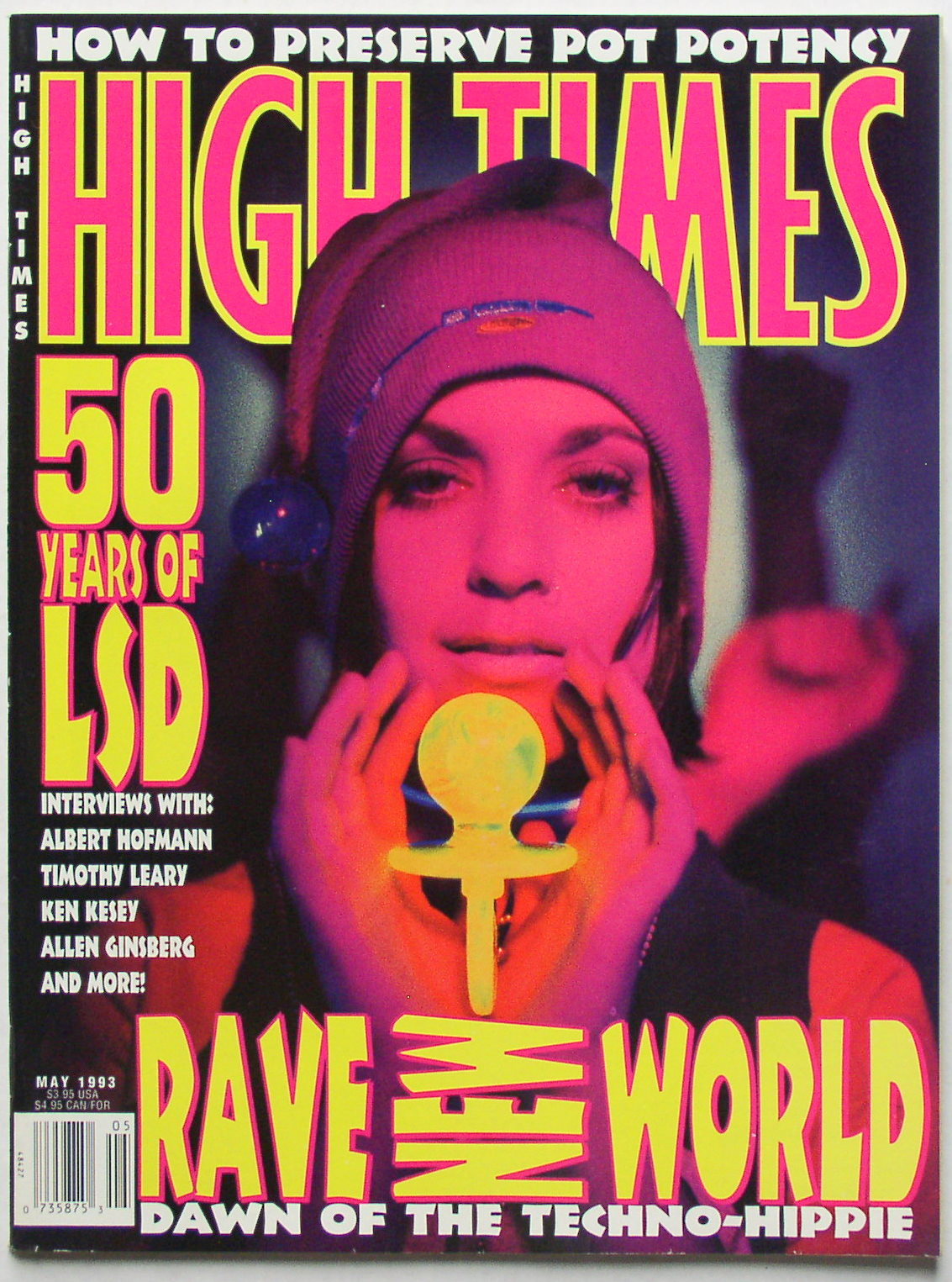 High Times Magazine 213 May 1993 Thingery Previews