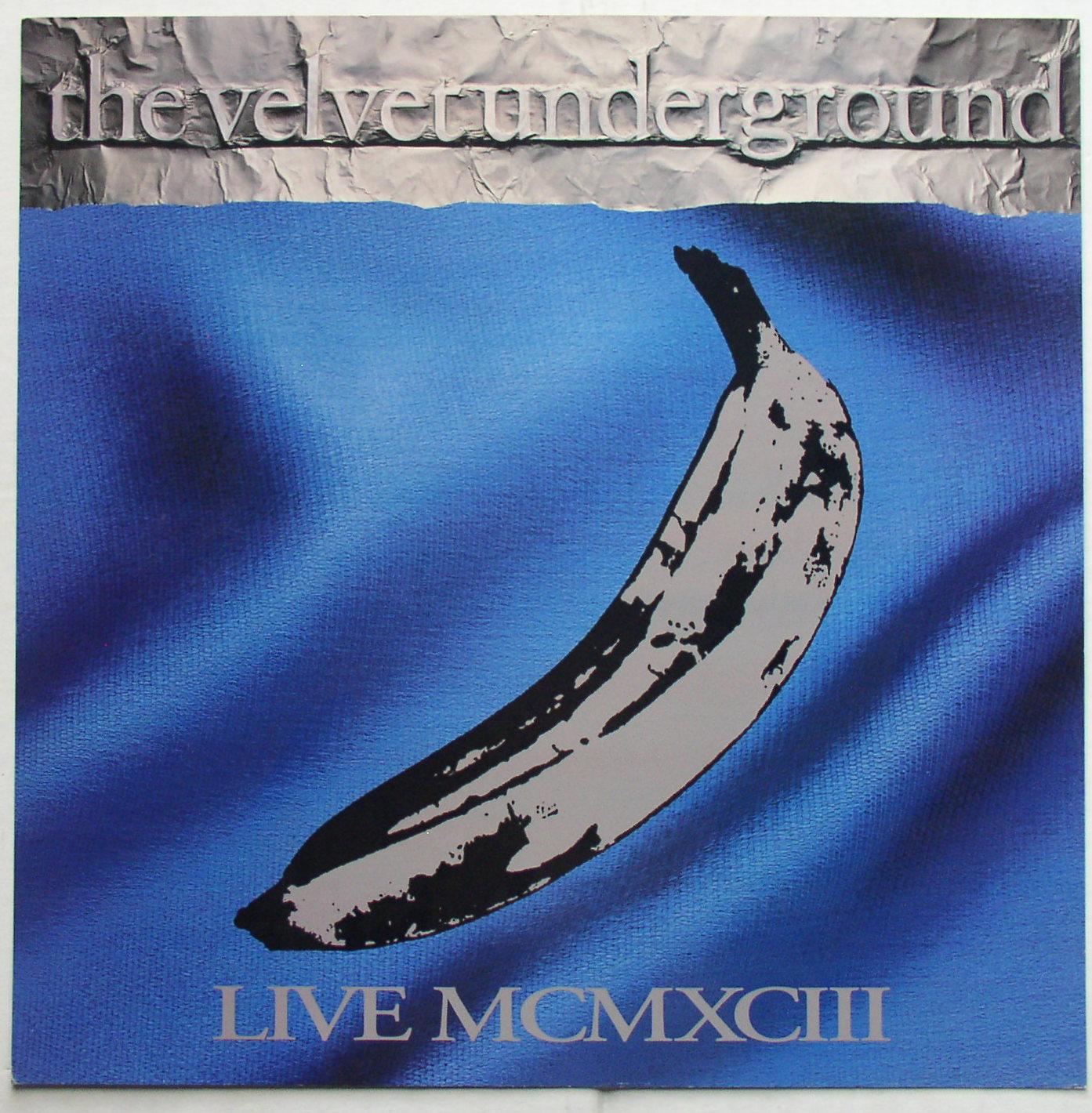 Velvet Underground Live Mcmxciii 1993 Promo Flat Sire
