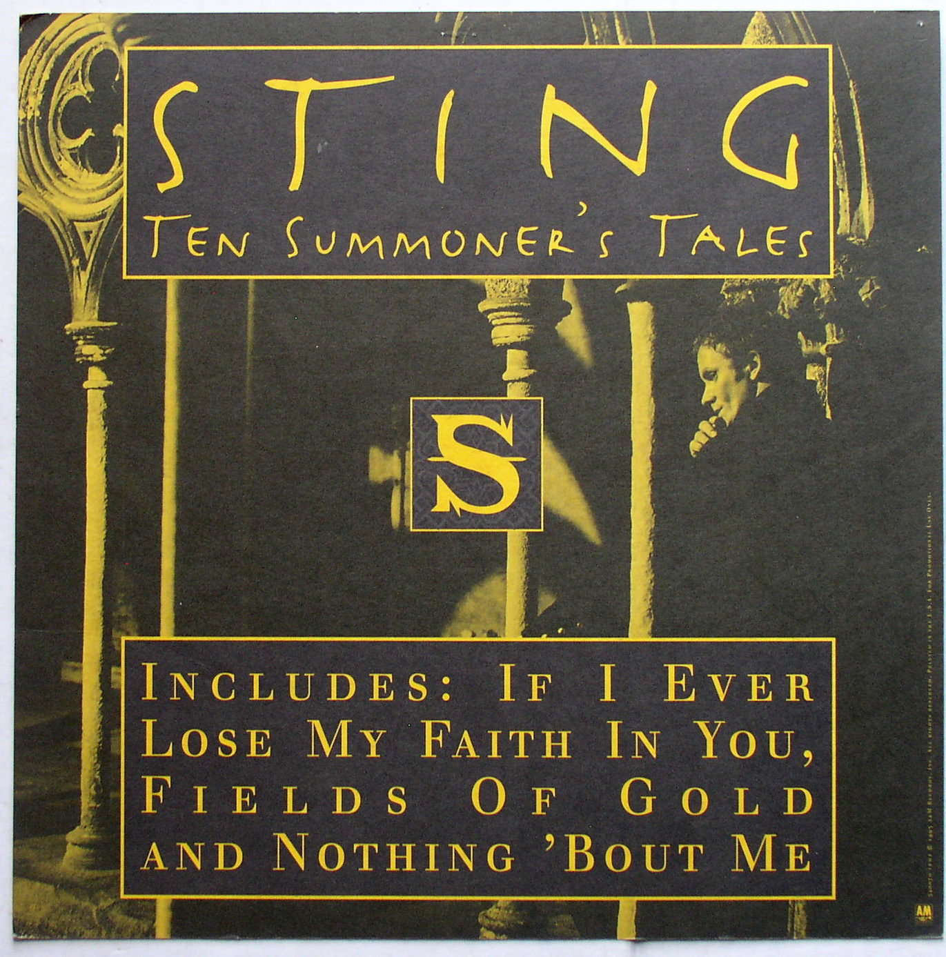 an analysis of the theme of humanity in ten summoners tale album by sting Art track list sting ten summoners tales music albums album songs music album covers i am really excited about today's lyrical analysis because it.