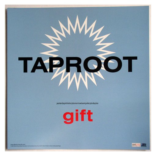 Taproot Gift Promotional Flat 2000 Atlantic Records