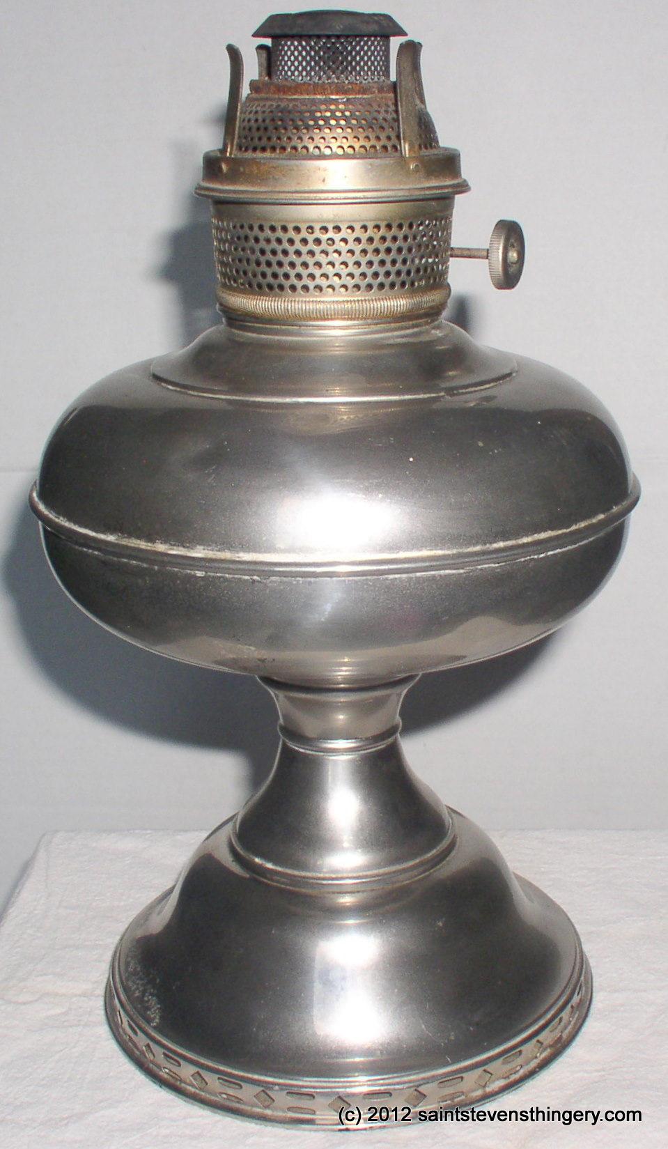 Antique Plume & Atwood Magnet Kerosene Oil Lamp, Flame Spreader ...