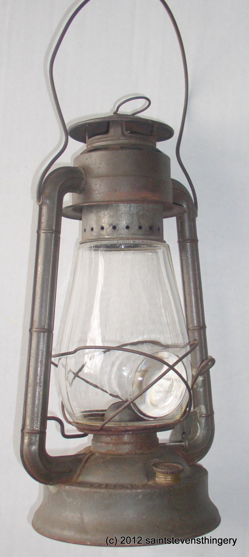 dietz bullseye globe no 2 blizzard kerosene oil lantern