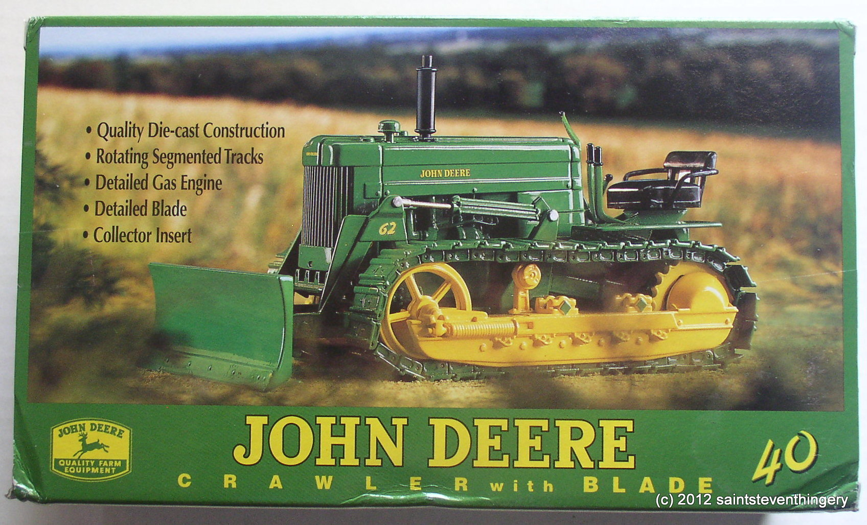 Empire Auto Sales >> 1/16 John Deere 40 Crawler with #62 Blade 19th Annual 1999 Plow City Show – Thingery Previews ...