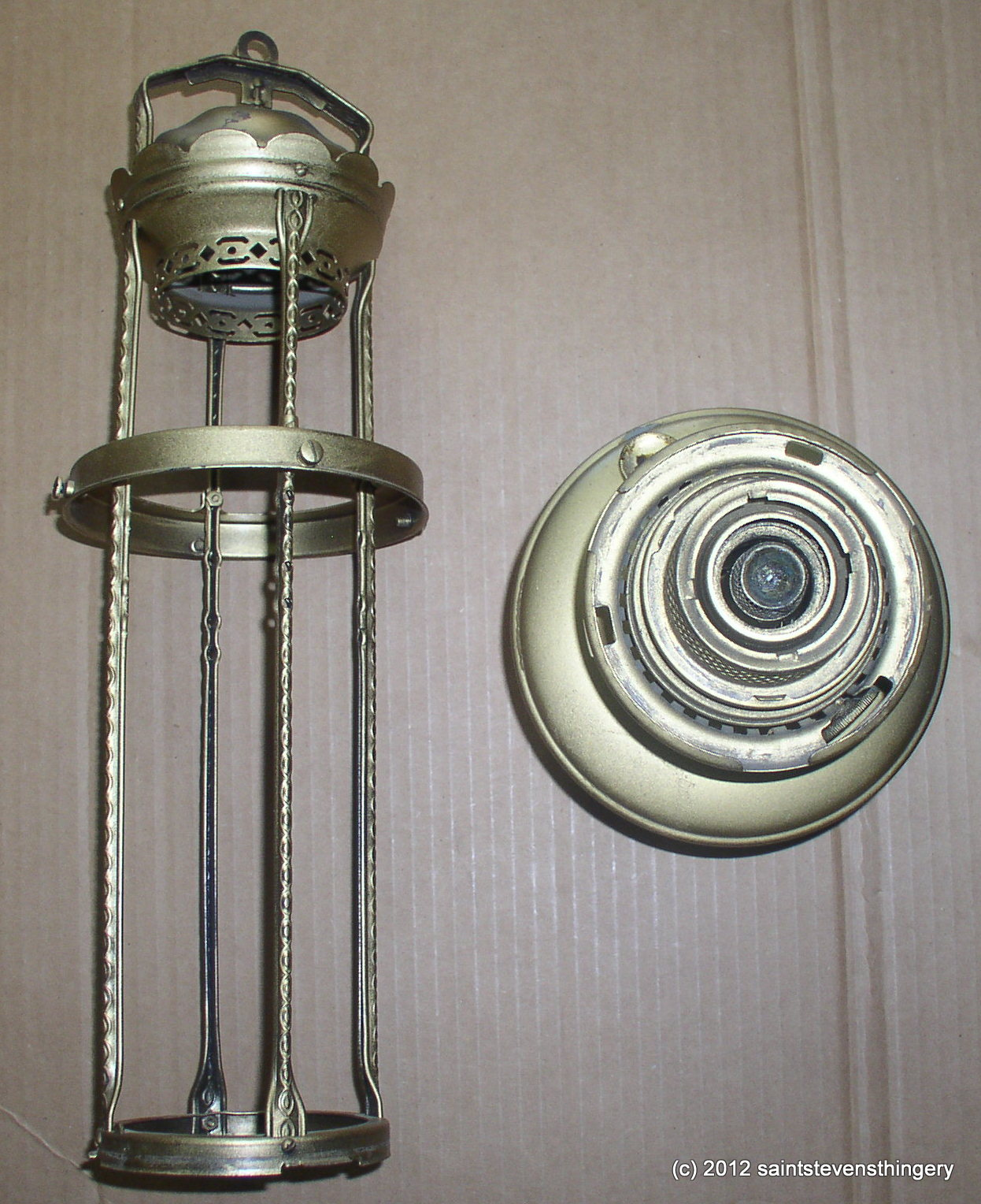 Cottage Car Sales >> Aladdin Model 12 Hanging 4 Post Oil Lamp – Thingery ...