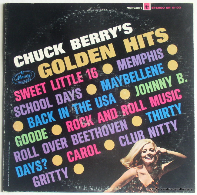 Chuck Berry / Chuck Berry's Golden Hits front cover