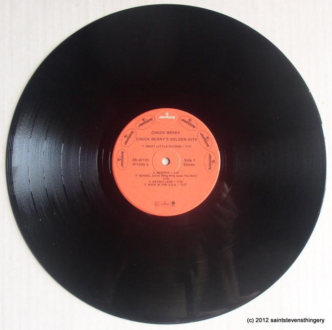 Chuck Berry / Chuck Berry's Golden Hits vinyl 1