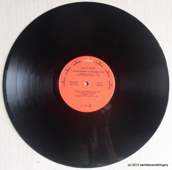 Chuck Berry / Chuck Berry's Golden Hits vinyl 2
