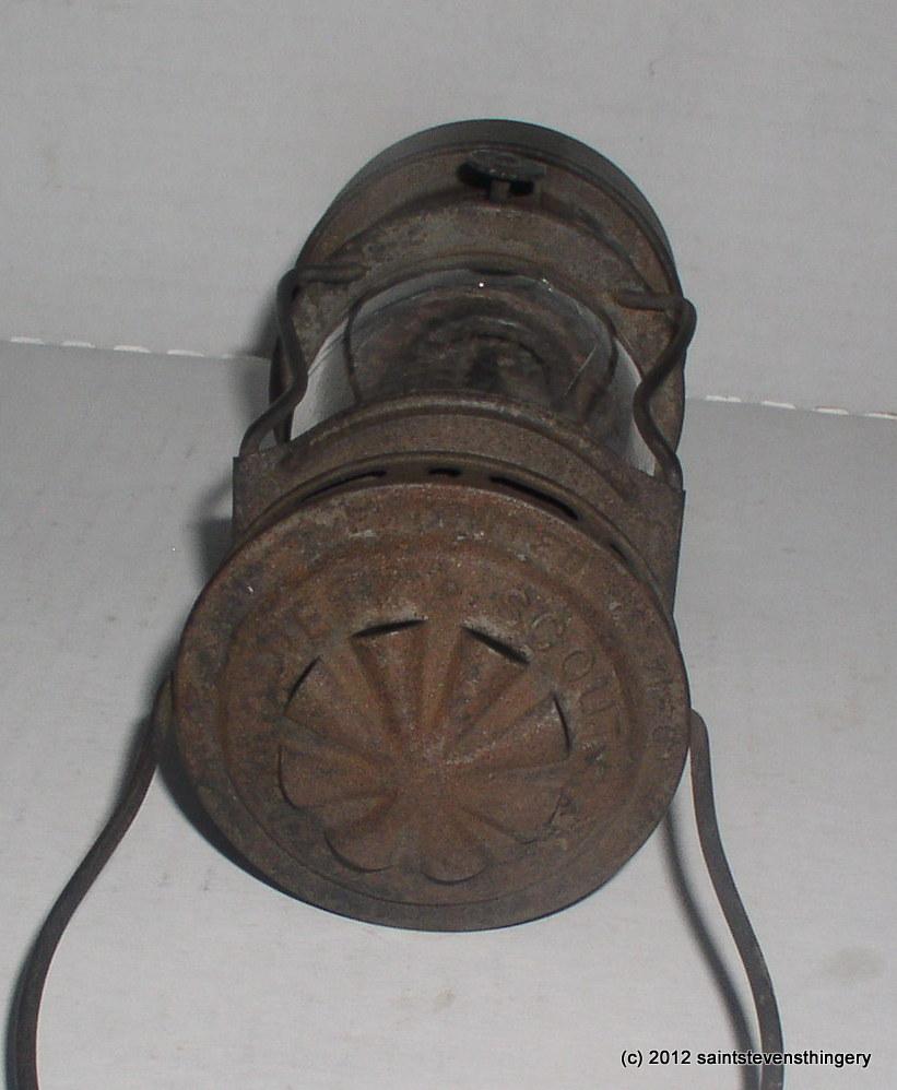 Sterling Auto Sales >> Antique Dietz Scout Skaters Kerosene Lantern Lamp Patent ...
