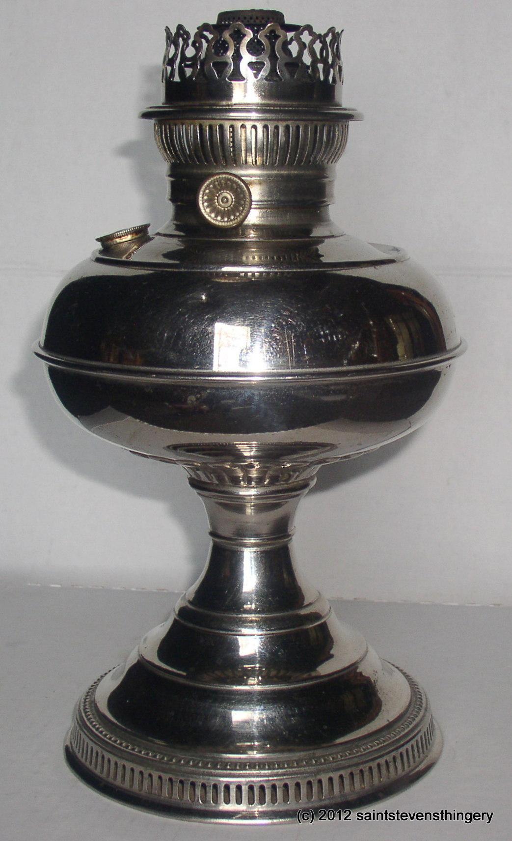 Antique Rayo Center Draft Kerosene Oil Lamp Patent 1905 ...