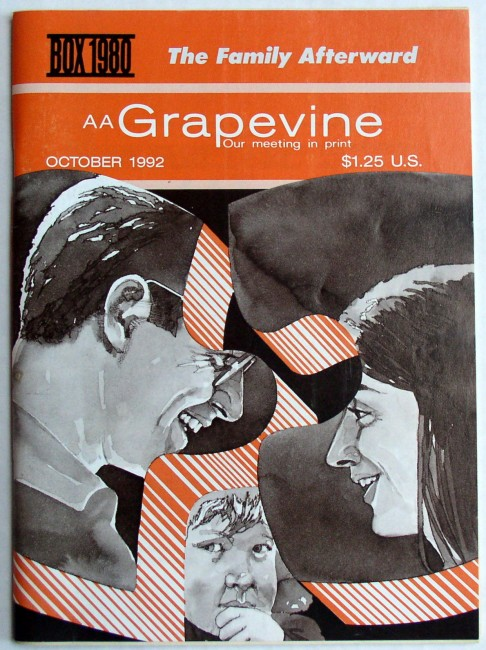 AA Grapevine Magazine October 1992