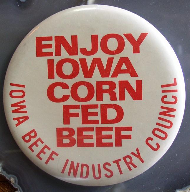 Enjoy Iowa Corn Fed Beef Pin