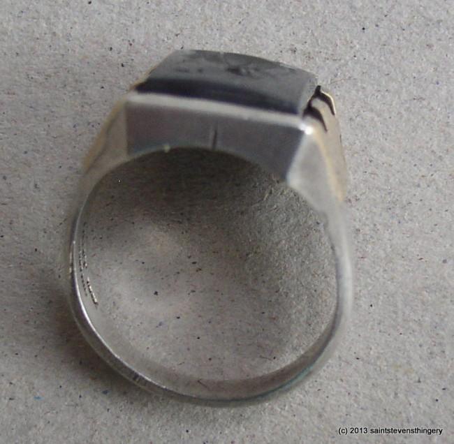 Hematite Intaglio Ring 3