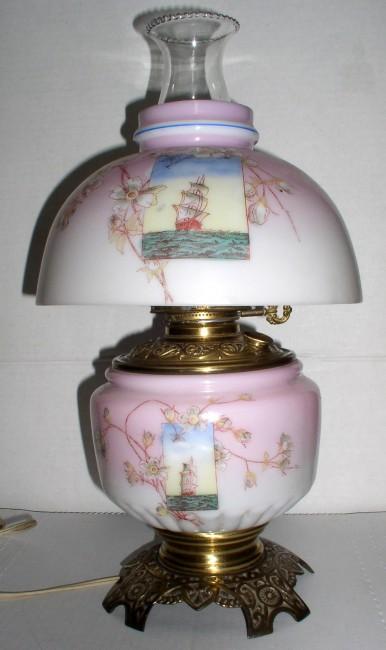 GWTW Tall Ships Lamp 4