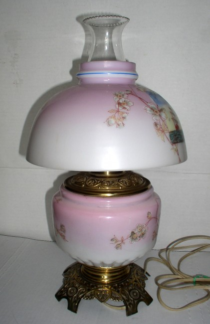 GWTW Tall Ships Lamp 5