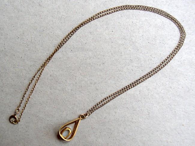 Chain Fire Opal Pendant 3