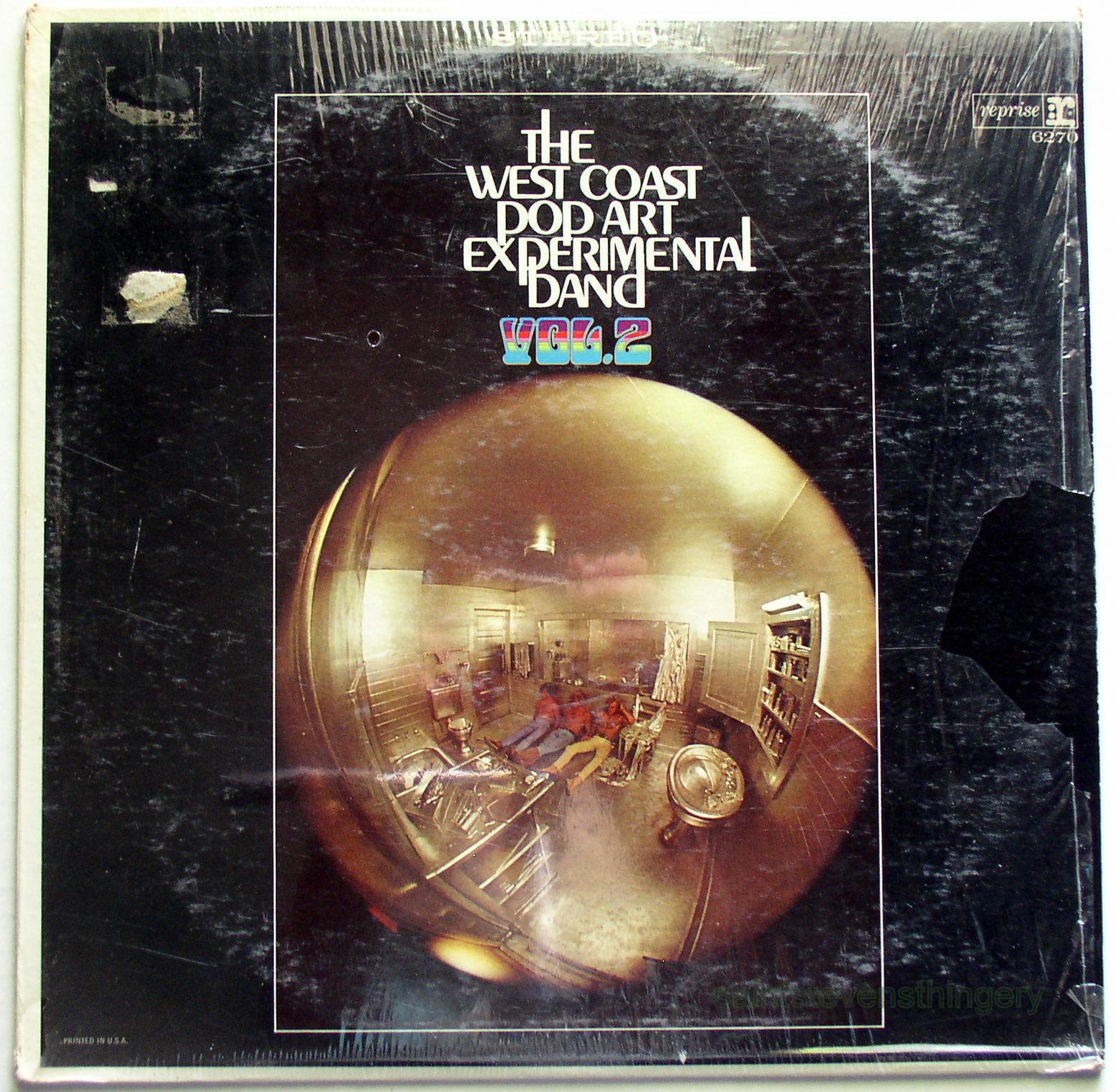 Lp West Coast Pop Art Experimental Band Vol 2 Vg Sw
