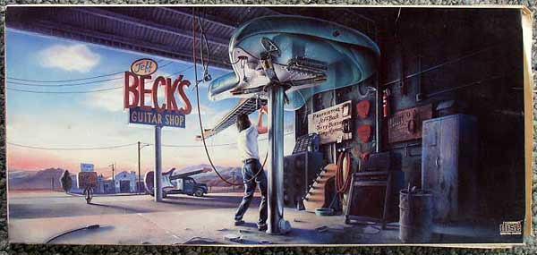 Empty Cd Longbox Jeff Beck S Guitar Shop 1988 Thingery