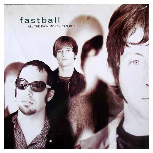 Fastball All The Pain Money Can Buy Promo Flat 1998