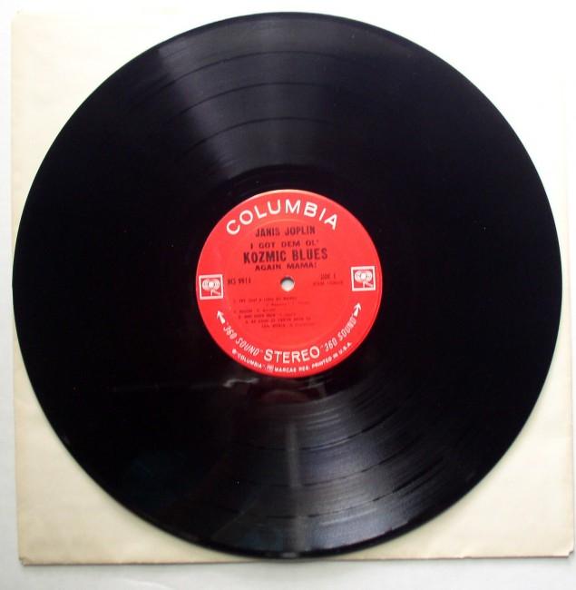 Janis Joplin / I Got Dem Ol' Kozmic Blues Again Mama LP 3