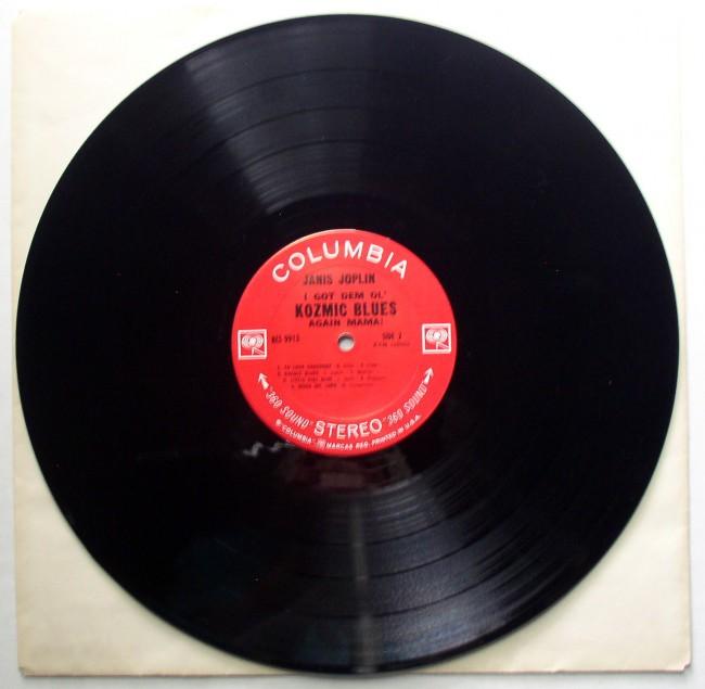 Janis Joplin / I Got Dem Ol' Kozmic Blues Again Mama LP 4