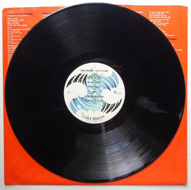Dave Mason / Let It Flow LP 3