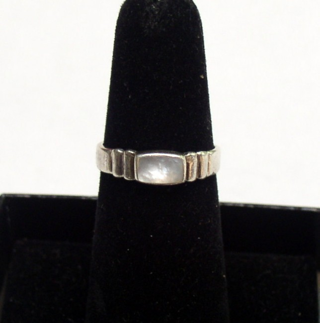 Sterling MOP Ring 1