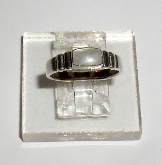 Sterling MOP Ring 4