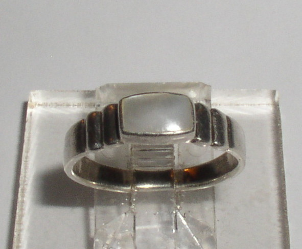 Sterling MOP Ring 5