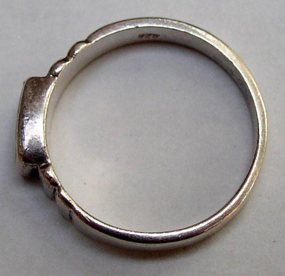 Sterling MOP Ring 7