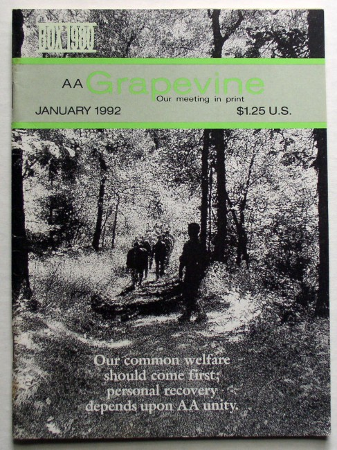 AA Grapevine January 1992