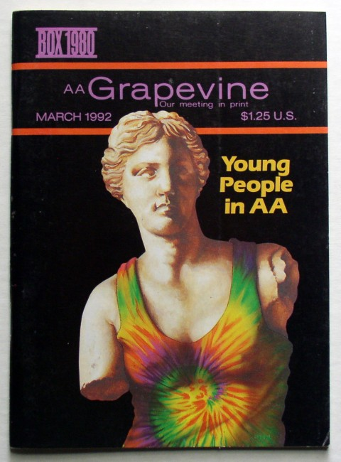 AA Grapevine March 1992