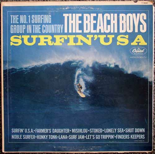 Beach Boys / Surfin USA LP