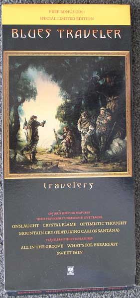Blues Traveler / Travelers And Thieves Longbox front
