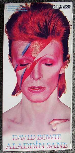 Bowie / Aladdin Sane longbox front