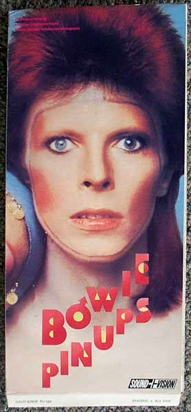 David Bowie / Pinups Longbox front