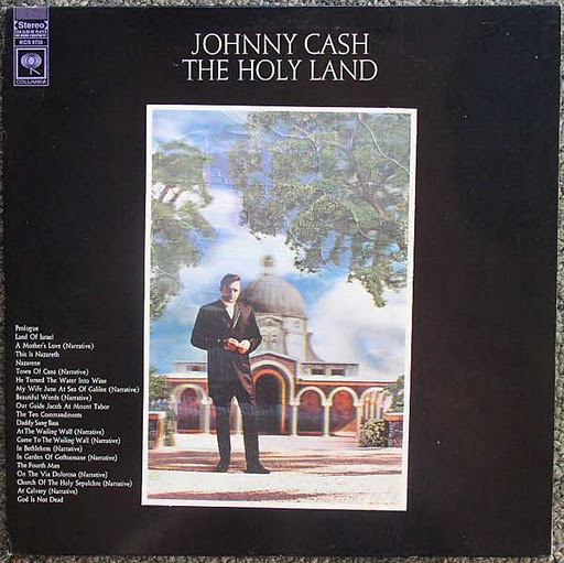 Johnny Cash / The Holy Land 3D cover 1969
