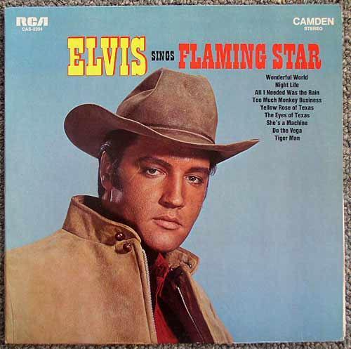 Elvis Sings Flaming Star LP