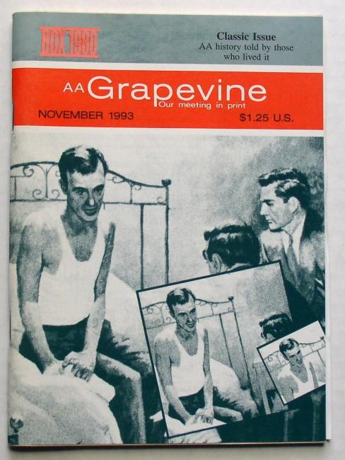AA Grapevine Magazine November 1993