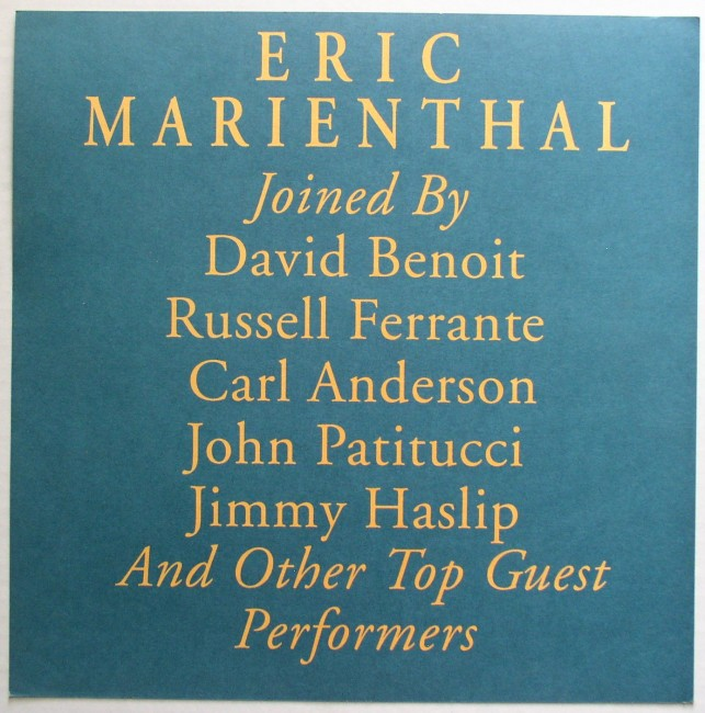 Eric Marienthal / One Touch promo flat back